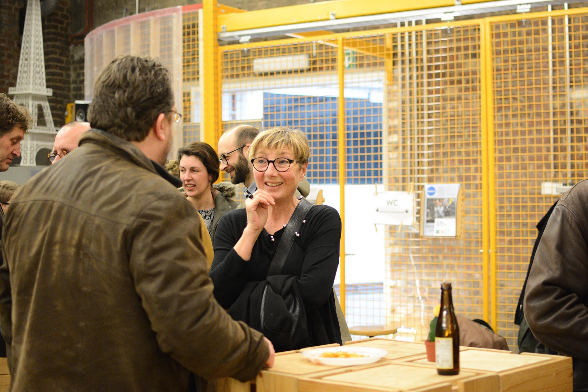 fotografie vernieuwde budalab opening in kortrijk in de budafabriek.