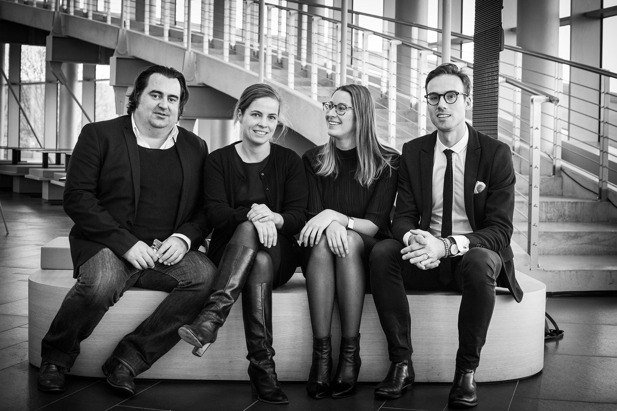 portret van het designregio Kortrijk team